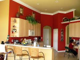 simple creamy wall color living room paint ideas with accent wall