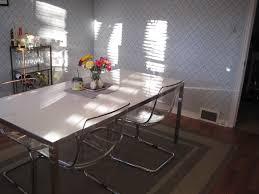 Acrylic Dining Room Tables Clear Acrylic Dining Table Home Design Ideas