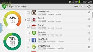 easy task killer apk zapper task killer manager for android free at apk here