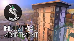 industrial apartment speed build the sims 4 youtube