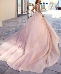 dusty wedding dress tulle dusty wedding gown with flower applique detail