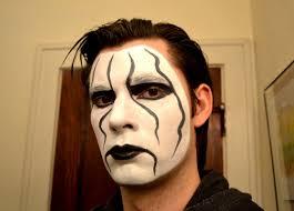 sting makeup tutorial wcw tna wwe raw youtube