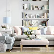 living room pastels grey living room couch ottoman coffee table