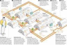 ebola field hospital floor plan washington post ebola
