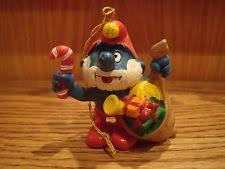 smurf ornaments ebay