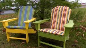 Adirondack Chairs Plastic Accessories Cushions For Adirondack Chairs Throughout Delightful