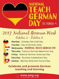 celebrate national german week american association of teachers of