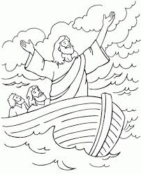 jesus calms the storm coloring page u2013 pilular u2013 coloring pages center
