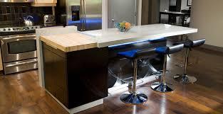 kitchen island countertop concrete kitchen island cheng concrete exchange
