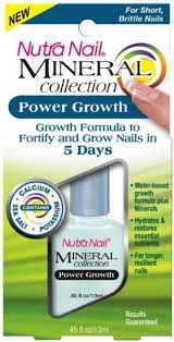 nutra nail mineral care power growth 0 45 oz walmart com