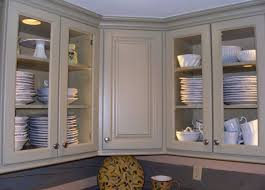 Kitchen Glass Cabinet by Glamor Glass Front Kitchen Cabinet Doors Tags Kitchen Cabinet