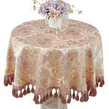 Buy Table Linens Cheap - european embroidered rectangular round dining tablecloth tea table
