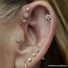 diamond cartilage piercing 1000 ear cartilage piercing ideas and types