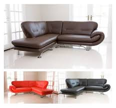 Nina Leather Sofa Corner Sofa