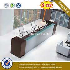 Reception Desk With Glass Display Desk Wrap Around Reception Desk Modern Wood And Glass Display