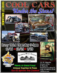 cool cars cool cars under the stars fla car shows