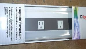 Under Cabinet Plug Mold Under Cabinet Power Strip The Date Code Is Imprinted In A Circle