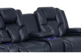 Dual Reclining Sofa Gladiator Power Dual Reclining Sofa And Console Loveseat