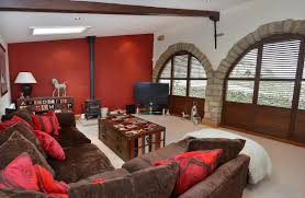 five bedroomed barn conversion has plenty on offer inside and