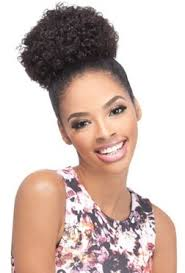 small afro puff buns hair pieces outre timeless ponytail afro small medium large