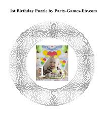1st birthday party games free printable games and activities for