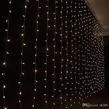 charming design curtain christmas lights decorate the house with