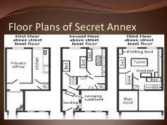 floor plan of the secret annex otto frank the frank family pinterest anne frank