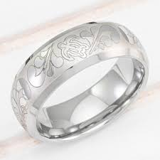 beveled ring tungsten carbide beveled edge ring with hawaiian sea turtle design 8