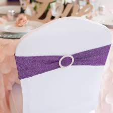 purple chair covers chair covers and sashes