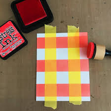 carly tee 3 easy ways to add plaid to your cards and the new