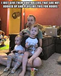 Girls Playing Video Games Meme - playing video games with kids funny pictures quotes memes funny
