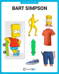 Skateboard Halloween Costumes Dress Bart Simpson Bart Simpson Fox Tv Costumes