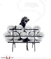 Herman Miller Marshmallow Sofa Mid Mod Mad Men A Look At Vintage Advertising U2013 Modern In Denver