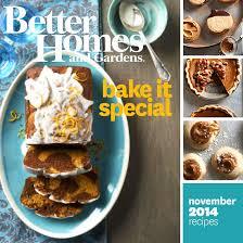 better homes and gardens november 2014 recipes
