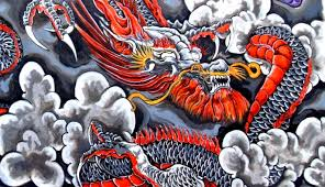 all about tattoos and ink dragon and wolf tattoo meaning