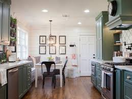 joanna gaines painted kitchen cabinets green make a statement in your kitchen with these 10 colors