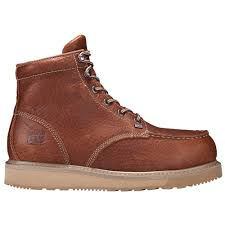 pro barstow wedge 6 inch moc alloy toe work boot 88559