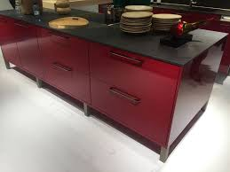 Red Colour Kitchen - muted kitchen color ideas that boost your mood