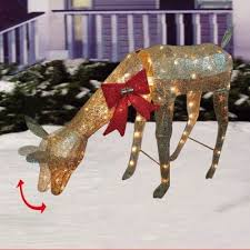 Outdoor Christmas Decorations Animated Deer by 29 Best Christmas Animatronics Images On Pinterest Christmas