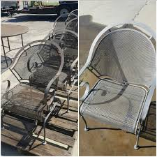 How To Restore Wicker Patio Furniture by Don U0027t Spend 1000 On New Patio Furniture Let Cg Blasting Restore