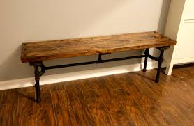 Laminate Flooring Around Pipes Orc Week 5 Diy Industrial Pipe Bench U2022 Charleston Crafted