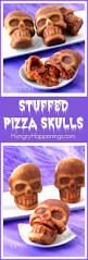 Jello Halloween Molds Instructions by Stuffed Pizza Skulls A Cool And Creepy Halloween Recipe