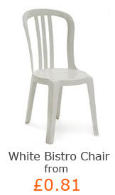 Resin Bistro Chairs with White Americana Chairs For Hire In Perth Canning Vale White