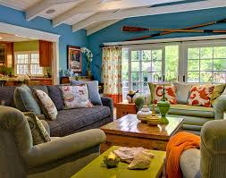 warm home interiors colorful and warm home by viscusi elson interior design