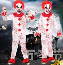 scary clown costumes scary clown jumpsuit for children clown costume kids