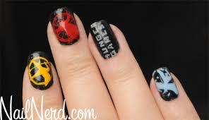 nail nerd nail art for nerds hunger games nails