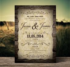 wedding invitations free 18 vintage wedding invitations free psd vector ai eps format