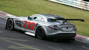 mercedes mclaren mercedes benz mclaren slr 722 gt spied on the u0027ring