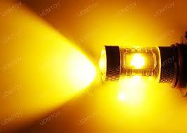 yellow led light bulbs 3000k yellow 30w cree xp e high power led bulbs for fog lights