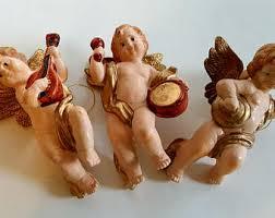 cherub ornament etsy